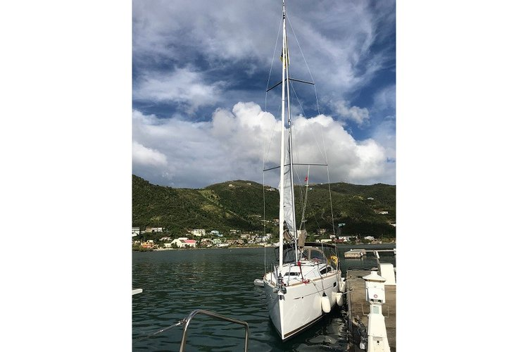 Monohull boat rental in Manuel Reef Marina, British Virgin Islands