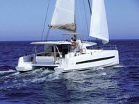 Get on the water and enjoy Salerno in style on our Bali Catamarans Bali 4.5 Fly
