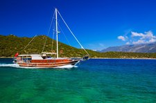 An awesome boat to enjoy everything Turkey has to offer