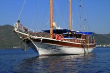 Explore Turkey on this beautiful gulet for rent