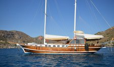 Charter this wonderful sail boat in Bodrum