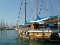 Take this awesome gulet to experience sailing