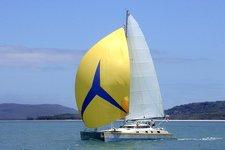 Comfortable sailing catamaran for up to 8 guests