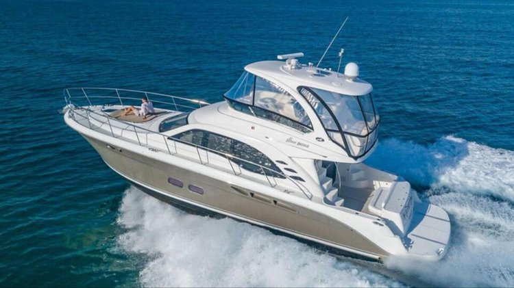 55' Sea RayFLybridge