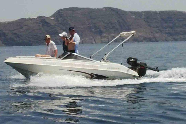 Motor boat boat for rent in Santorini - Vlichada