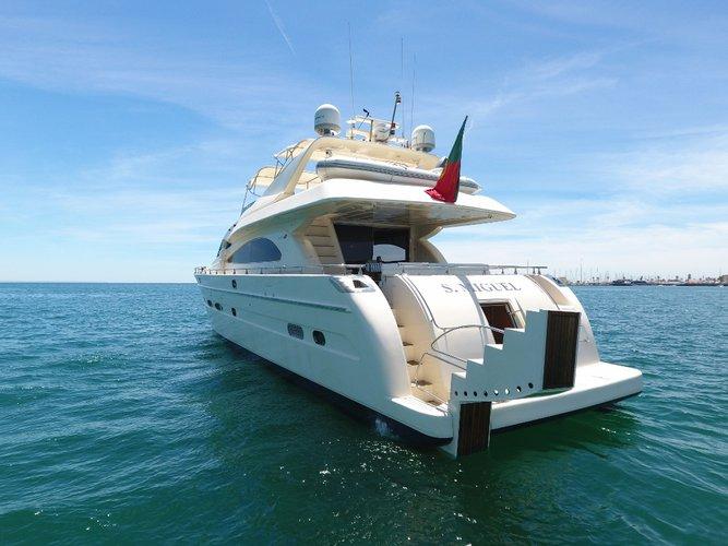 Enjoy Portimao, PT to the fullest on our comfortable Astondoa Yachts Astondoa 82