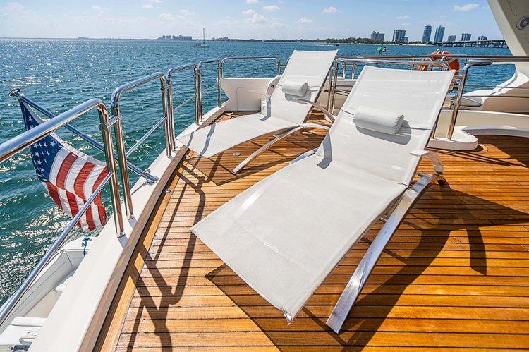 Boat for rent Azimut 78.0 feet in MBM - Miami Beach Marina,