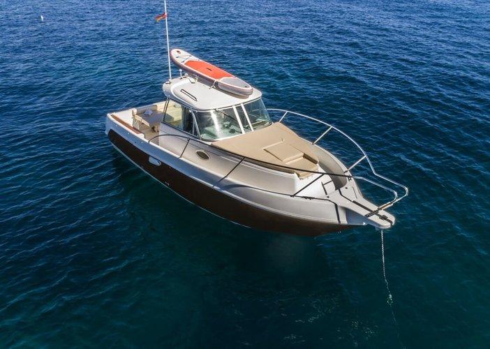 Motor yacht boat rental in Ibiza, Spain