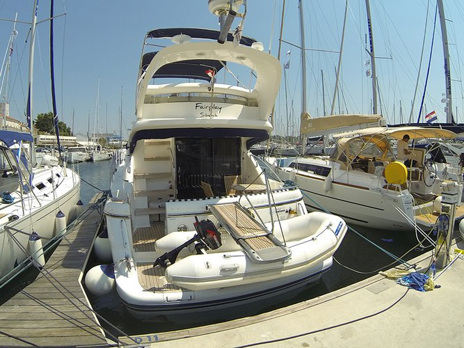 Boat for rent Fairline Boats 39.0 feet in Marina Mandalina, Sibenik, Croatia