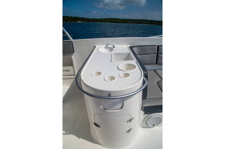 Up to 24 persons can enjoy a ride on this Motor boat boat