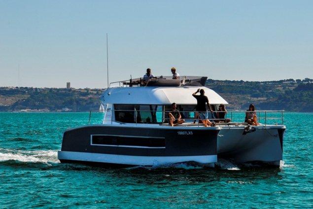Catamaran boat rental in Lisboa, Portugal