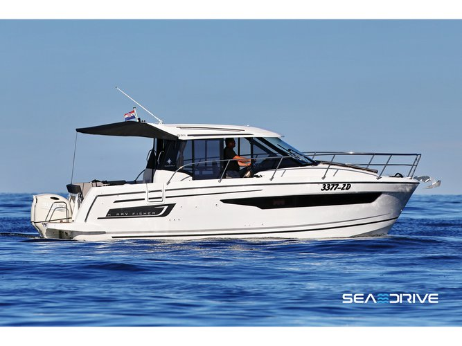 Discover Biograd in style boating on this motor boat rental