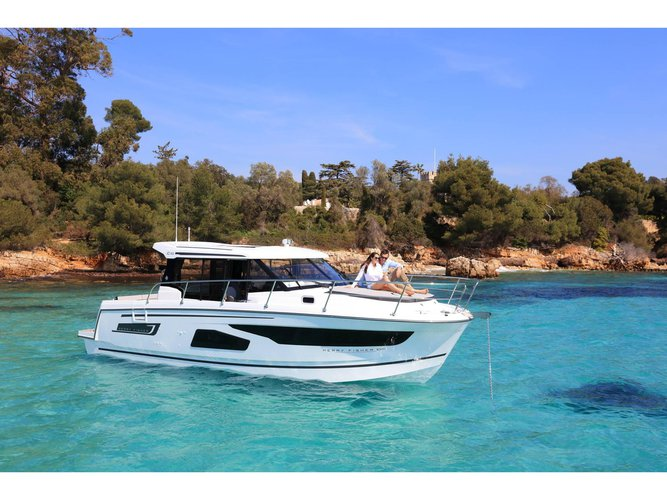 Rent this Jeanneau Jeanneau Merry Fisher 1095 for a true nautical adventure