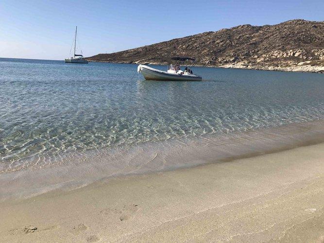 Boat for rent Nautica 19.0 feet in Vlichada port, Greece