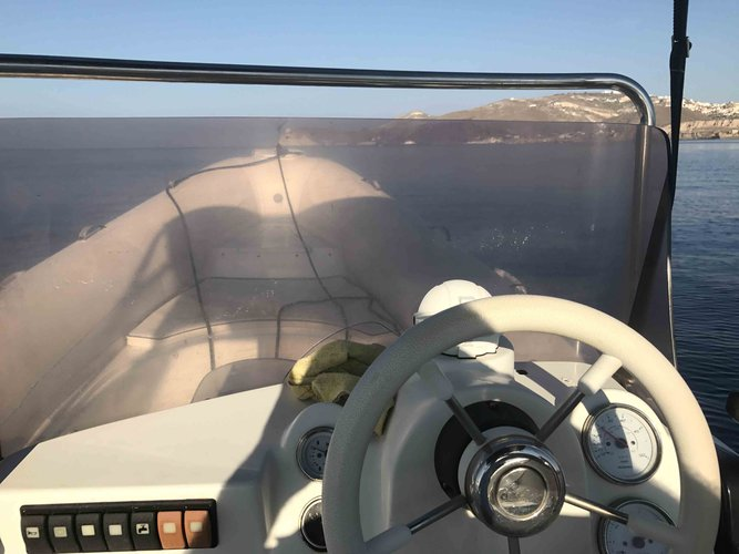Rent a rib boat Discover Santorini by your own