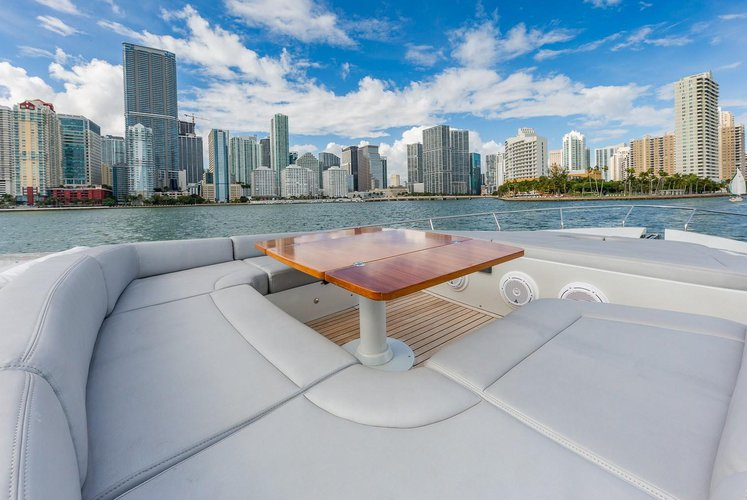 Motor yacht boat for rent in Miami Beach