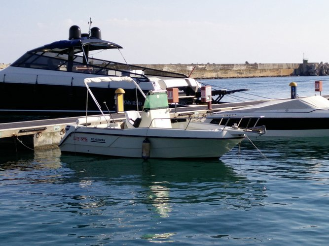 Boating is fun with a Elan in Leuca