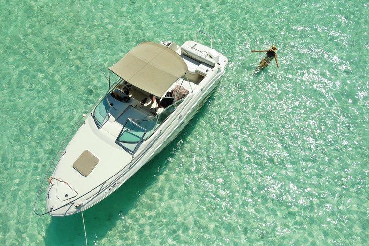 Boat for rent sea ray 25.0 feet in Marina Cap Cana, Dominican Republic