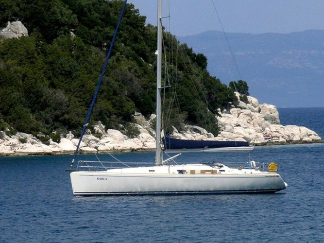 Sail Trogir, HR waters on a beautiful AD Boats Salona 45