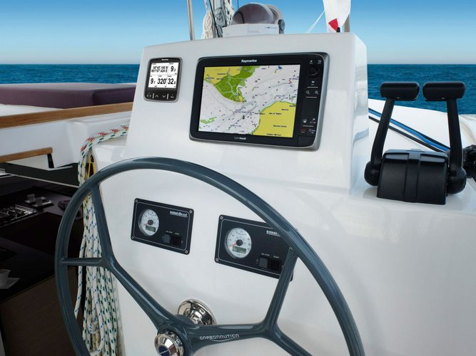 Get on the water and enjoy Palermo in style on our Bali Catamarans Bali 4.5 Salina
