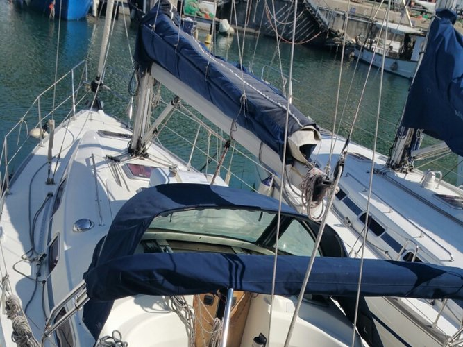 Enjoy luxury and comfort on this Bavaria Yachtbau Bavaria 35 Cruiser in Genoa