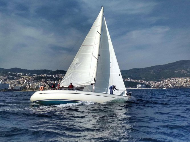 Explore Kavala on this beautiful sailboat for rent