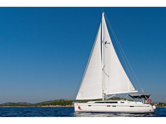 Experience Murter, HR on board this amazing Bavaria Yachtbau Bavaria 46 CN