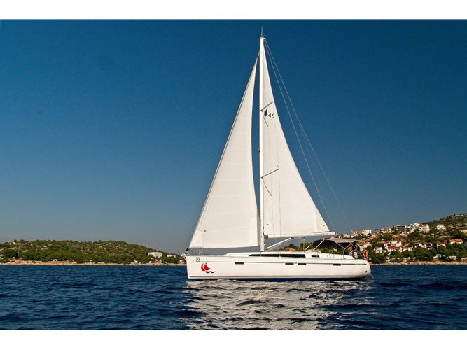 Enjoy Murter, HR to the fullest on our comfortable Bavaria Yachtbau Bavaria 46 CN