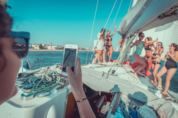 Beneteau boat for rent in Lisbon