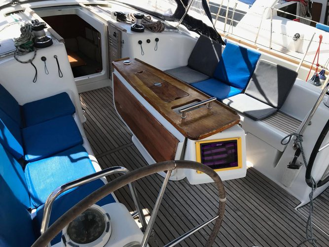 Rent this Beneteau Oceanis 43-4 for a true nautical adventure