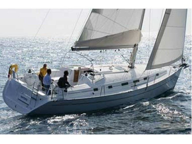 Unique experience on this beautiful Beneteau Cyclades 43.4