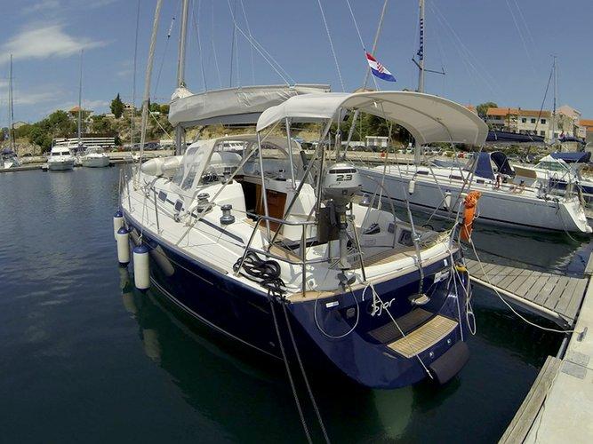 Boat for rent Cantiere Del Pardo (Grand Soleil) 40.0 feet in Marina Mandalina, Sibenik, Croatia