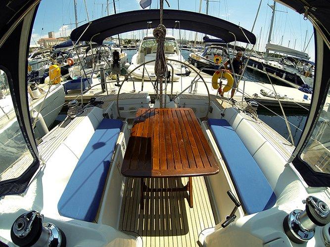 Boat for rent Cantiere Del Pardo (Grand Soleil) 45.0 feet in Marina Mandalina, Sibenik, Croatia