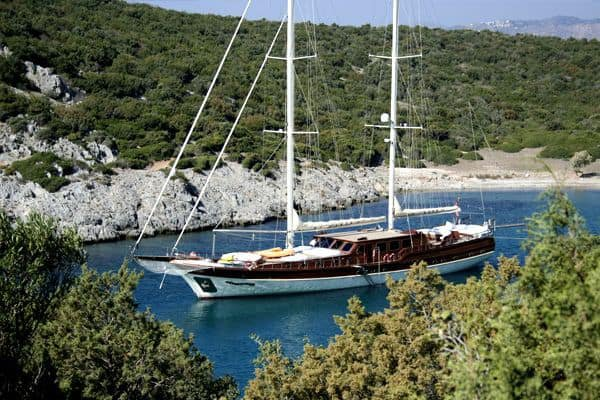 Explore Turkey on our luxurious Sail boat for rent