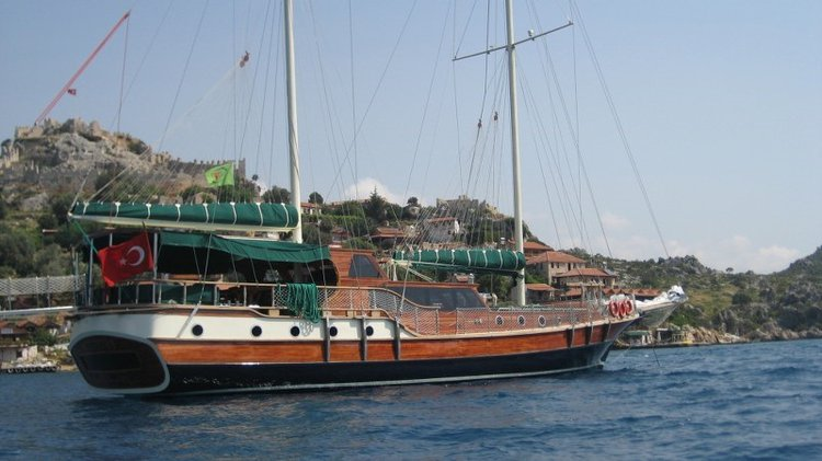 Relax on board our sail boat charter in Turkey