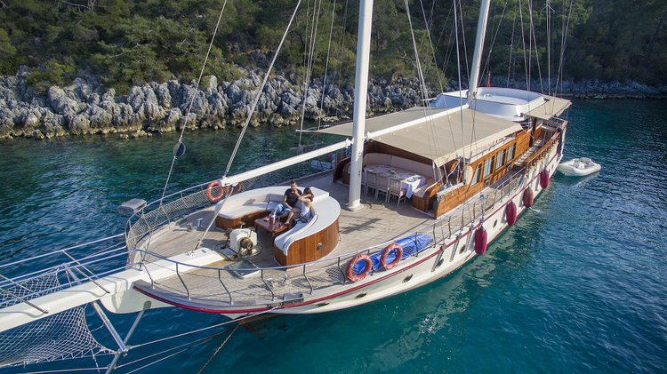 Sit back, relax and have fun in Turkey onboard a beautifu sail boat rental
