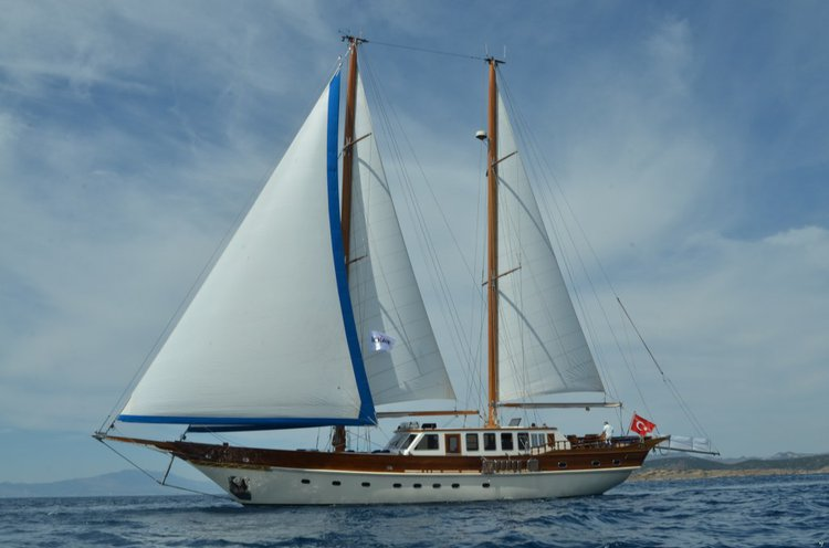 The best way to explore Turkey is to jump aboard a gorgeous sail boat rental