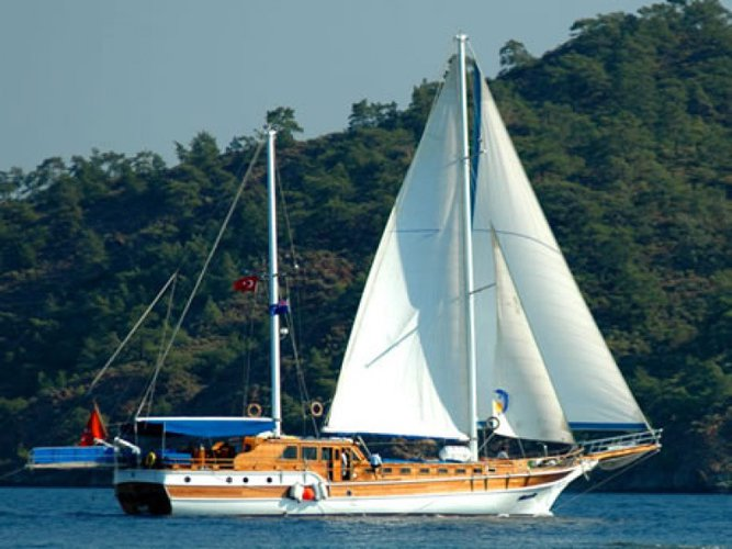 Experience Turkey on board this beautiful sail boat
