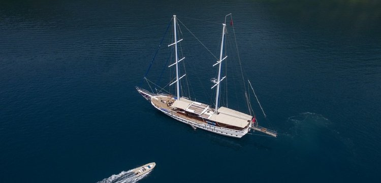 The best way to explore Turkey is to jump aboard this gorgeous sail boat rental