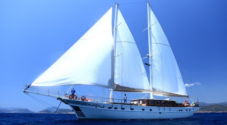 Have fun in the sun on this amazing Turkey sail boat charter