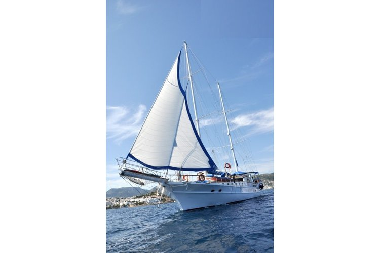 Relax on board our sail  boat charter in Bodrum