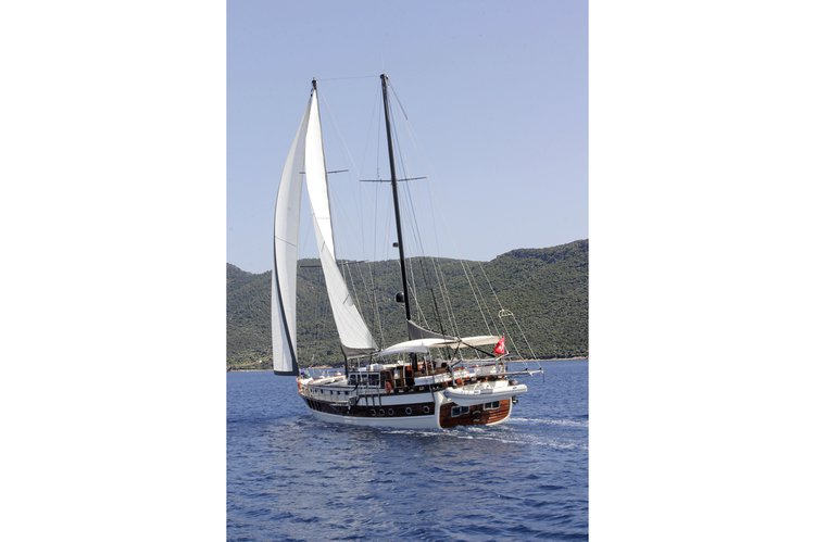 Sailing on this Bodrum sail boat charter is an experience you should not miss!