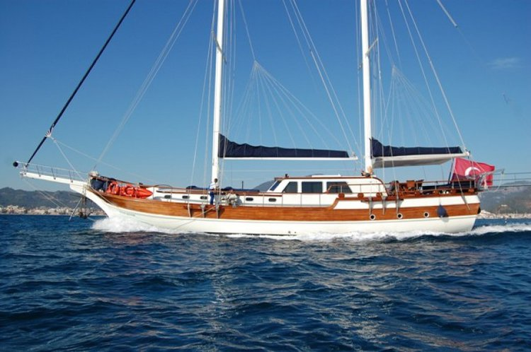 The best way to experience Turkey is by sailing on this beautiful gulet