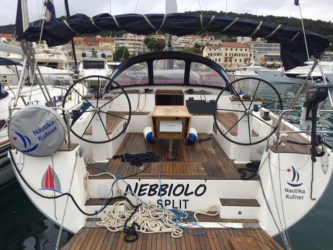 Experience Trogir on board this elegant sailboat