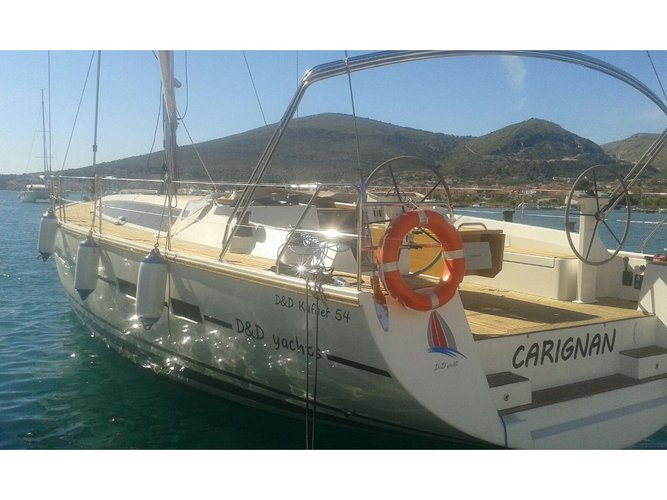Enjoy luxury and comfort on this D&D Yachts D&D Kufner 54.1 in Trogir