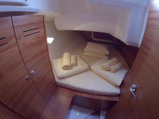 Dufour 350 interior