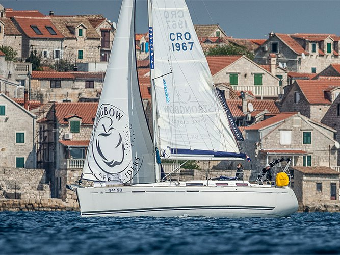 Experience Šibenik region, HR on board this amazing Dufour Yachts Dufour 365 GL