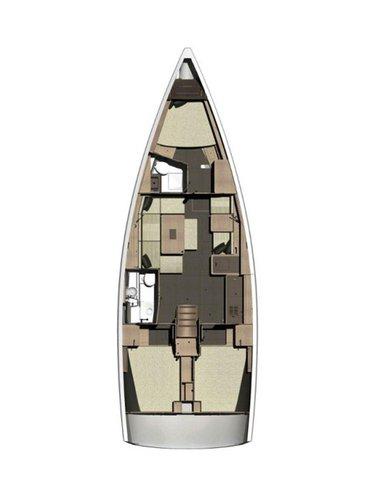 Boat for rent Dufour Yachts 41.0 feet in Marina Mandalina, Sibenik, Croatia