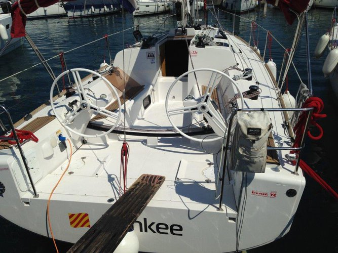 The perfect boat to enjoy everything Biograd, HR has to offer