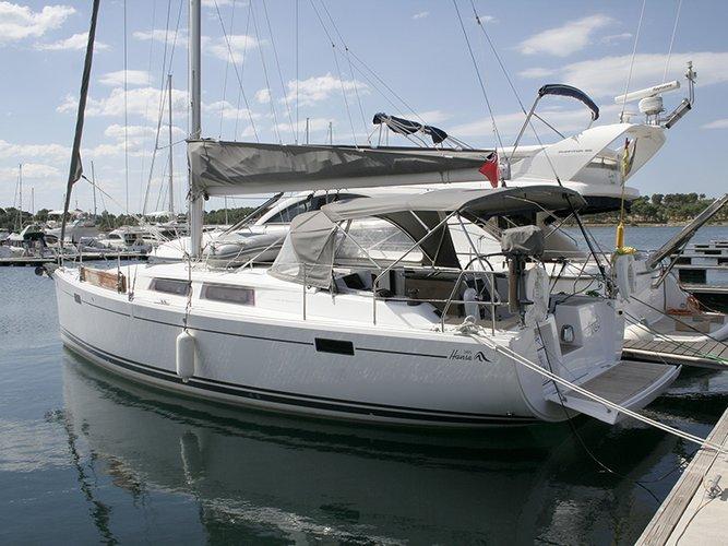 Boat for rent Hanse Yachts 37.0 feet in Marina Mandalina, Sibenik, Croatia